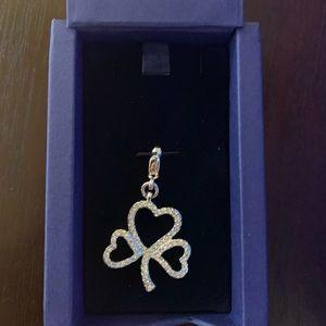 Swarovski necklace charm